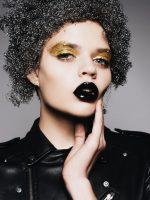 Silvija for festive J&J makeup box photoshoot!
