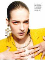 Rebeka for HARPER'S BAZAAR magazine in Hong Kong
