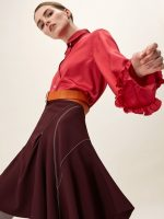 Agne Konciute for Aquilano.Rimondi pre-fall 2017 collection in Milan