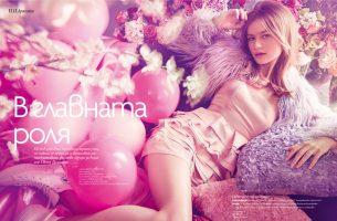 Brigita for ELLE magazine in Los Angeles
