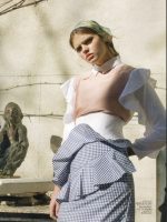 Silvija Skverneviciute for Marie Claire magazine