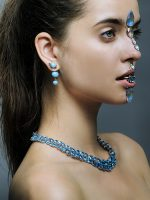 Saule for special jewelry issue of De La Vanguardia magazine in Spain