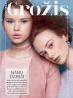 Gertruda for newest PANELE magazine beauty editorial