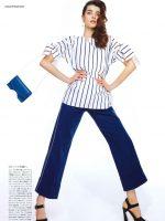 Saule Silinyte for Vogue Japan April issue