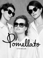 Agne Konciute for latest Pomellato Eyewear campaign