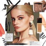 Karolina for Metro Magazine Beauty Editorial