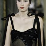 Vilija in Paris Fashion Week