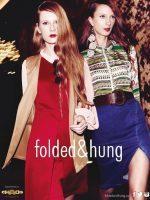 """Evelina """"Folded & Hung"""" reklaminėje kampanijoje"""