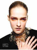 Rebekos nuotraukos žurnale HARPER'S BAZAAR HK