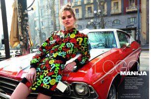 Agnė Končiūtė naujausiame ELLE Croatia žurnalo numeryje