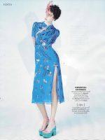 Ugnė Andrijauskaitė naujausiame ELLE Thailand žurnalo numeryje